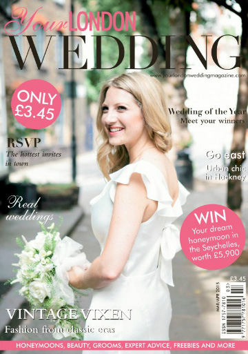 Featured on Your London Wedding Magazine