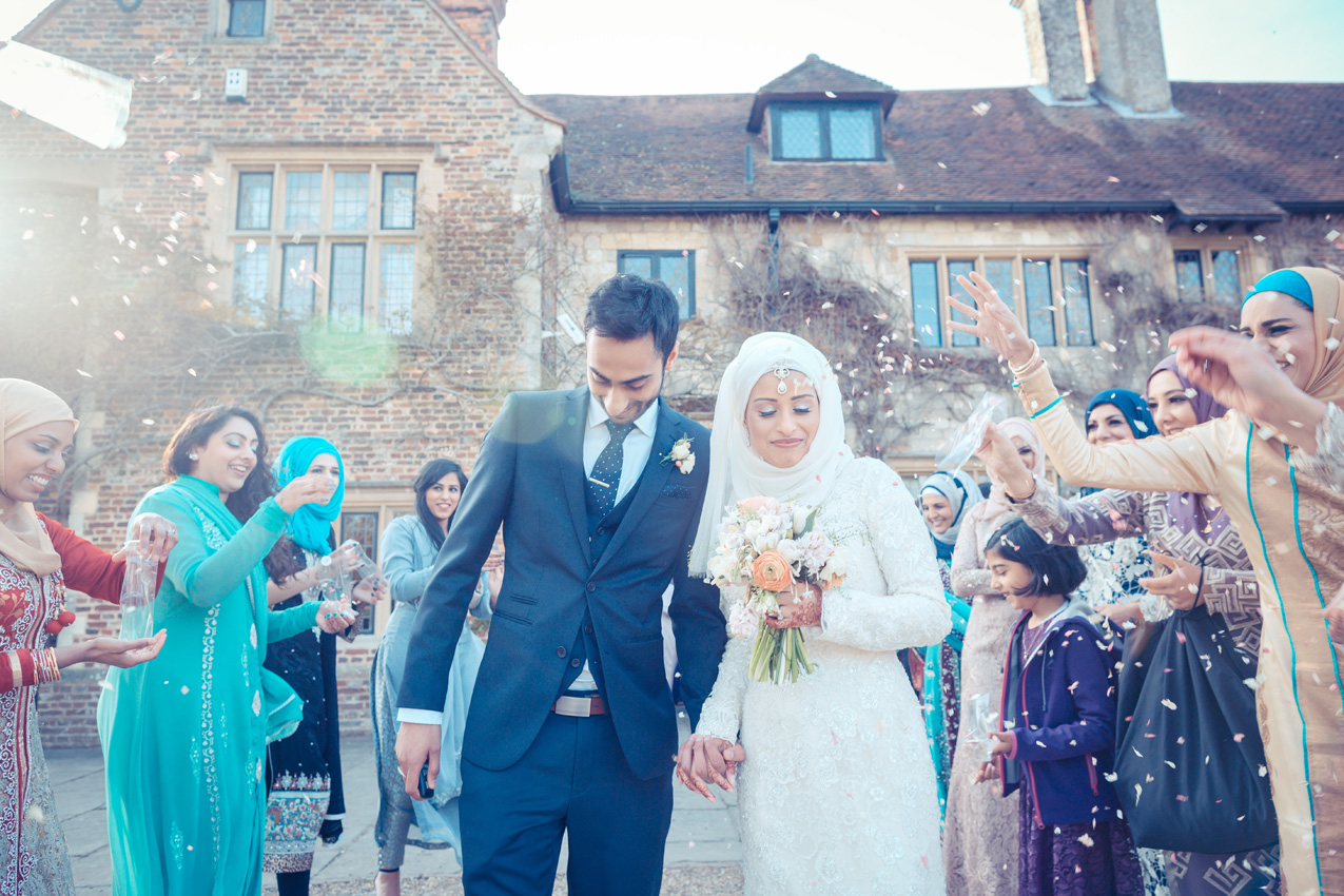 Zaakira and Hamzah Islamic / Muslim Wedding Day – Broyle Place, East Essex