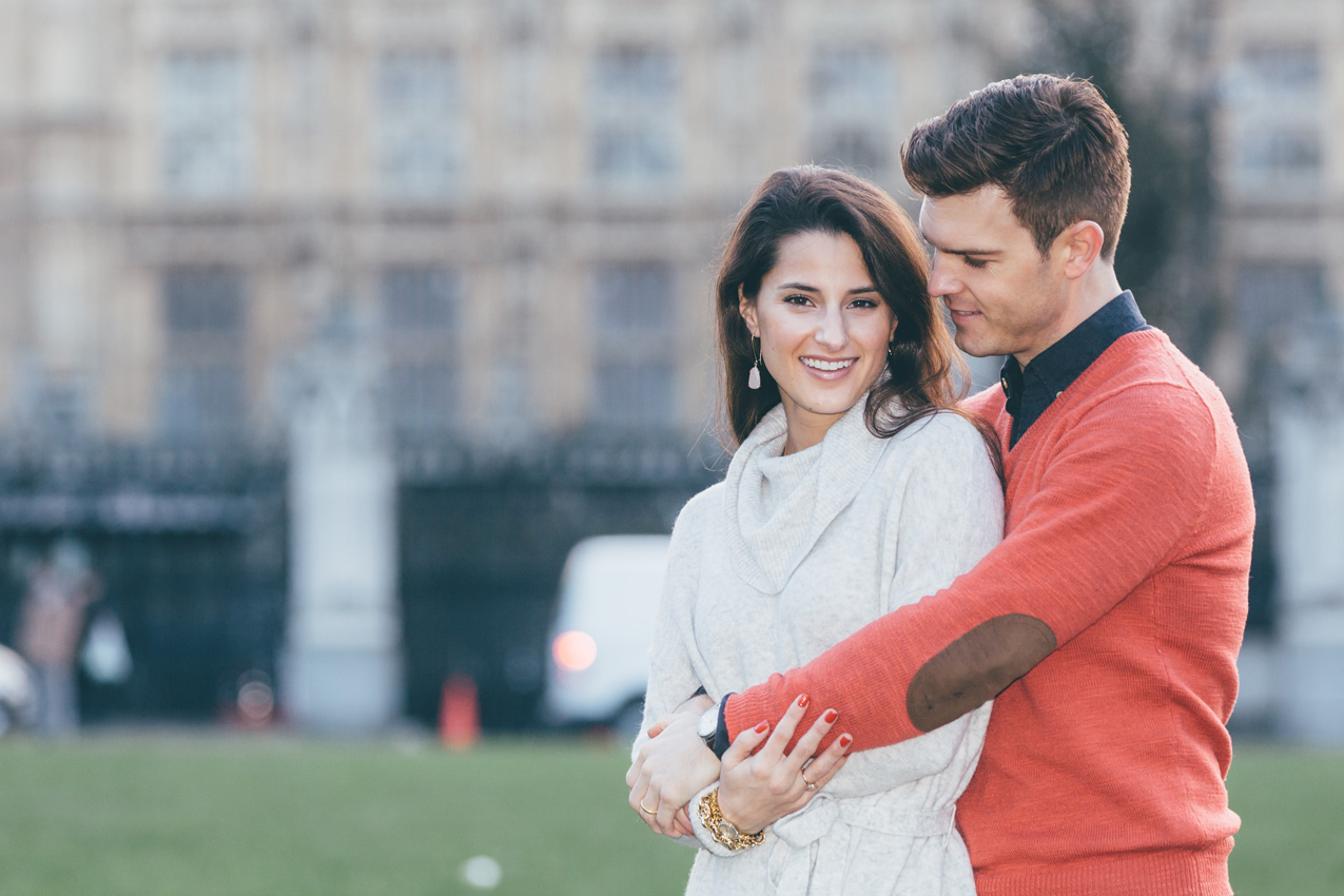 Tourist Couple Photoshoot at London Landmarks – Lillyan and Trey