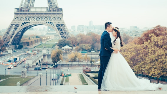 Picture Perfect Paris and london Photoshoot -Ka Yan and Darren