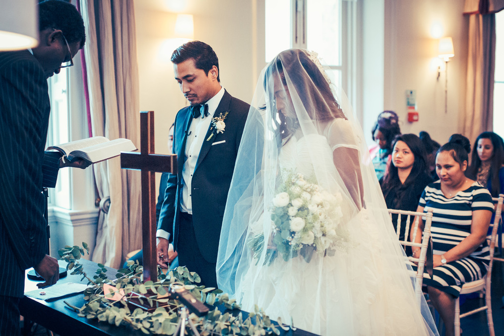 Elegant Wedding at Morden Hall-Angela and Praj